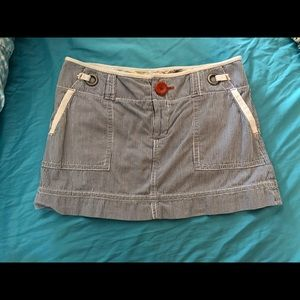 American Eagle pinstriped skirt size 6
